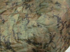US GI MILITARY PONCHO LINER / BLANKET - MARPAT CAMO SIDE & GOLD / COYOTE SIDE