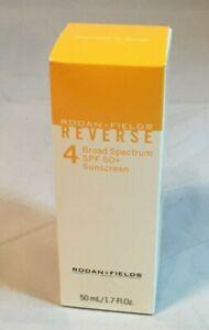 New Rodan + Fields Reverse Broad Spectrum SPF 50+ Sunscreen 1.7 Fl Oz