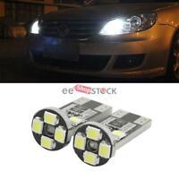 Ampoule led lampe plaque position 8 SMD Blanc 6000k T10 universelle 5 pcs ESS TE