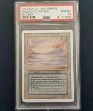 PSA 10! UNDERGROUND SEA Revised Dual GEM MINT MTG Magic The Gathering LOW POP