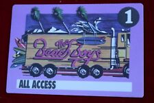 The Beach Boys All Access Backstage Tour Passes 80s Purple Semi