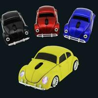 Wireless Mouse Gamer Cute Beetle Car Shape 1600DPI Optical Laptops Gaming L3B3