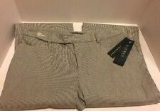 Lauren Ralph Lauren Womens Size 10P Blue White Pin Stripe Pant BRAND NEW