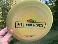 Discraft Paul McBeth First Run Disc Golf Frisbeetime  Kong Zeus Proto OOP PDGA