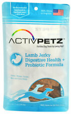 Digestive Health Plus Probiotic Jerky Treat For Dogs Natural Chews Lamb 7oz