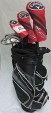 Mens Callaway Golf Clubs Set Driver, Wood, Hybrid, Irons, Putter Reg Graphite
