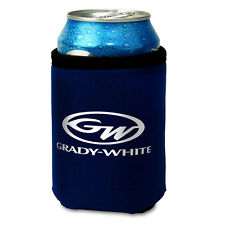 Grady White Navy Collapsible Can Cooler Koozie