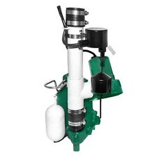 Zoeller Pumps Model 507 Basement Sentry Series 12V Back-Up Sump Pump System