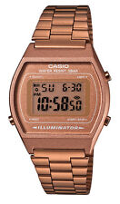 Casio B640WC-5A Men's Vintage Rose Gold Tone Chronograph Alarm LCD Digital Watch