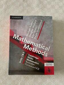Cambridge Senior Mathematics: Mathematical Methods Units 1&2 VCE