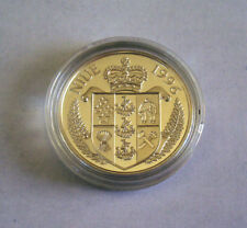 Island Country Niue 1996 Commemorative 1 Silver Dollar (goldplated) The Bounty !
