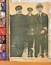 1940 WINTER GARDEN THEATRE BRISBANE WARTIME BROCHURE WWII CHURCHILL FOR FREEDOM