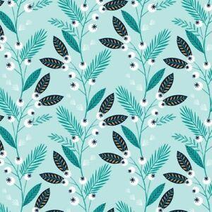 Cotton Fabric Metre Dashwood - Skogen - Berries Metallic - half metre