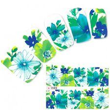 Nagel Sticker Nail Art Aufkleber Blumen Nägel Flower Fuß Water Decal
