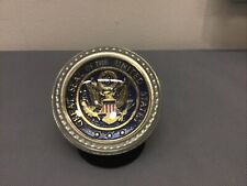 New listing Salisbury Pewter Great Seal Of The United States Dome Paperweight