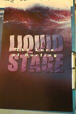 Liquid Stage Lure Of Surfing 1996 Classic Surf Film 11x17in. Original Poster