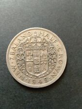 New Zealand 1948 Half Crown AGS