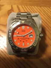 Victorinox Swiss Army Dive Master 500m Orange Dial Quartz Watch Rare