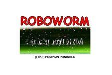 Roboworm SL-F8KF Pumpkin Punisher 7 Inch - BULK LOT 37 Soft Plastic Baits