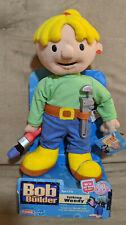 "New Vintage Bob the Builder 14"" Plush Stuffed Talking Wendy Doll (working)"