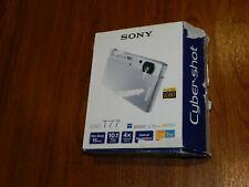Open Box - Sony Cyber-Shot DSC-T77 10.1 MP Camera - BLACK - 027242736030