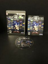 Sonic's Ultimate Genesis Collection (Sony PlayStation 3, 2009) PS3 Complete