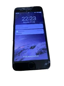 Apple iPhone 6 16GB Vodafone Smartphone Grey Works Fine but Battery