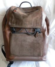 NWT Coach 72324 Manhattan BackPack In Patchwork Leather Saddle Brown Retail $650