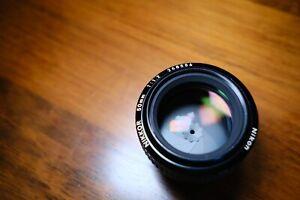 Nikon Nikkor 50mm Ai f1.2 lens