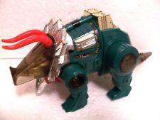 G2 vintage GREEN Slag variant near complete part lot Dinobot G1