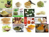 All Herbal Pure & Natural Powder AMLA / NEEM / BHRINGRAJ /TRIPHALA/BRAHMI 100GM