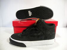 ALIFE EVERYBODY HIGH CORE LEATHER SNEAKER MEN SHOES BLACK F92EVHLN SIZE 11.5 NEW