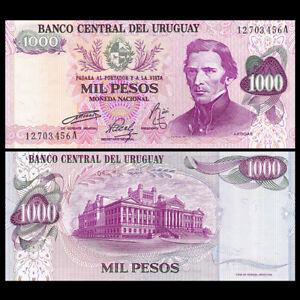 Uruguay 1000 Pesos, ND(1974), P-52, UNC