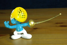 Smurfs Fencer Smurf 40504 Sword Fencing Figure Rare Vintage PVC Toy 80s Figurine