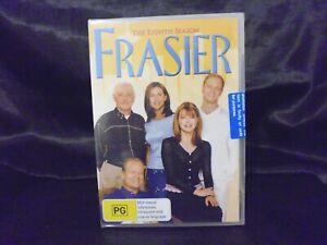 Frasier : Season 8 - 4 DISC SET - BRAND NEW & SEALED - KELSEY GRAMMER - REGION 4