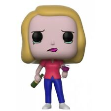 Rick and Morty Figurine Pop Animation Vinyl Beth With Wine Glass 9 Cm Funko 301