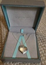 Dower & Hall Sterling Silver Heart Necklace