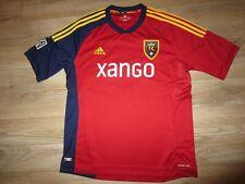 Salt Lake Real #13 Hanson MLS Soccer adidas Jersey LG Large Mens