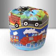 Children's Bean Bag Transport Emergency Vehicles Boys Kids Bedroom Furniture New