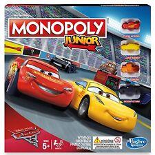 Monopoly Junior Disney Pixar Cars Official 3rd Edition Polish Language Version
