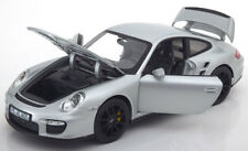 Norev 2007 Porsche 911 (997) GT2 Silver 1/18 Scale New Release In Stock!