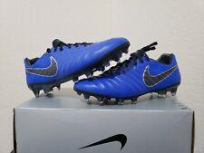 Nike Tiempo Legend 7 Elite FG ACC Soccer Cleats Racer Blue AH7238-401 Men Size 8