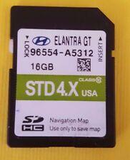 96554-A5312 2015-2016 Hyundai Elantra GT Navigation SD Card OEM 96554 A5312