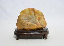 Very  Nice  Hand  Carved  Chinese  Changhua  Tianhuang  Stone  Boulder
