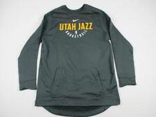 NEW Nike Utah Jazz - Men's Dark Gray Cotton Sweatshirt (2XLTT)