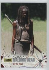 2016 Cryptozoic The Walking Dead Season 4 Part 1 Silver Foil #34 On the Road 2o7