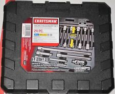 New Craftsman 24 Pc Reach+Access Socket Accessory Set 9-30024 Factory Sealed