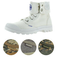 Palladium Baggy Women's Canvas Fold-Over Combat Boots