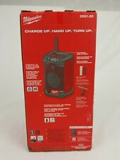 Milwaukee 2951-20 M12 Cordless Radio & Charger - NEW IN BOX - Tool Only