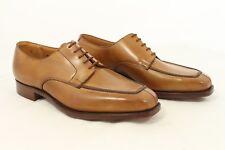 Brand New Crockett and Jones Walton Tan Apron Split Toe Derby - Size UK 7.5
